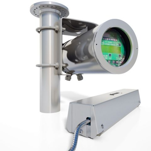 FLUXUS G801 clamp-on ultralyd flowmeter for gass