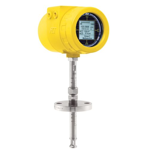 Flanged flow meter